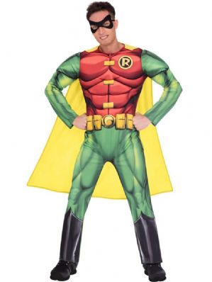 Robin Muscle Chest Costume XL